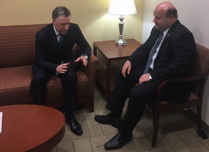 Посол Украины обсудил сВолкером введение миротворцев ООН вДонбасс