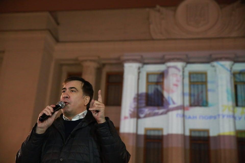Саакашвили проинформировал, что его арестуют ивыдадут Грузии