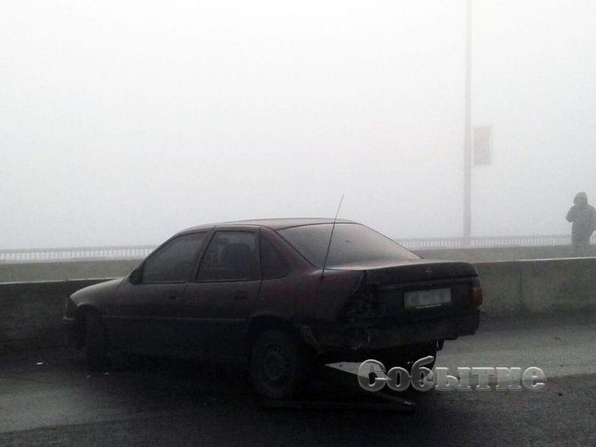 ВКаменском из-за тумана столкнулись десять авто