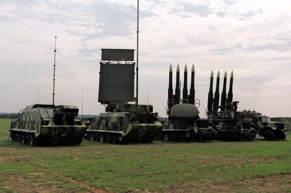 ВСУ начали тестирования зенитных ракет начались вХерсонской области
