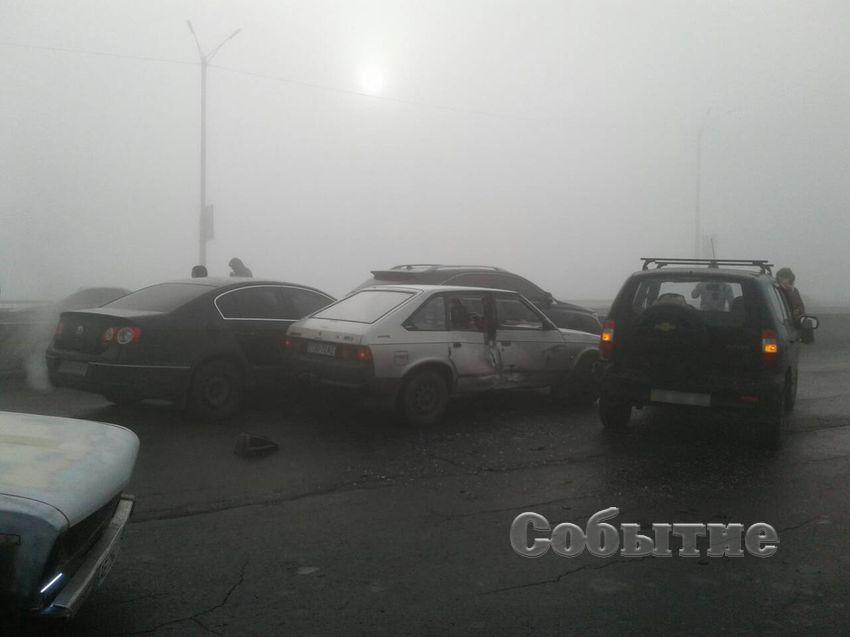 Масштабное ДТП наДнепропетровщине: столкнулись 9 авто