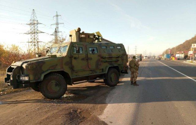 Военная прокуратура вместе спограничниками проводят спецоперацию вЗакарпатье