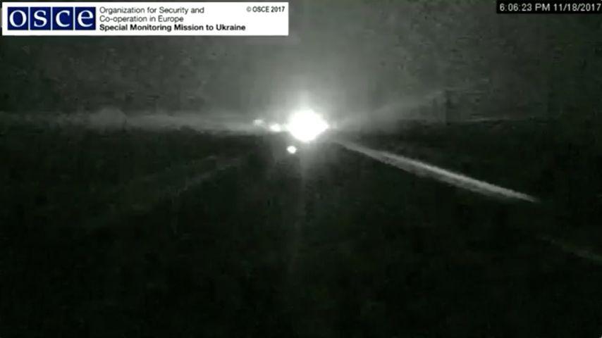 ОБСЕ обнародовала видео боев около фильтрационной станции вАвдеевке