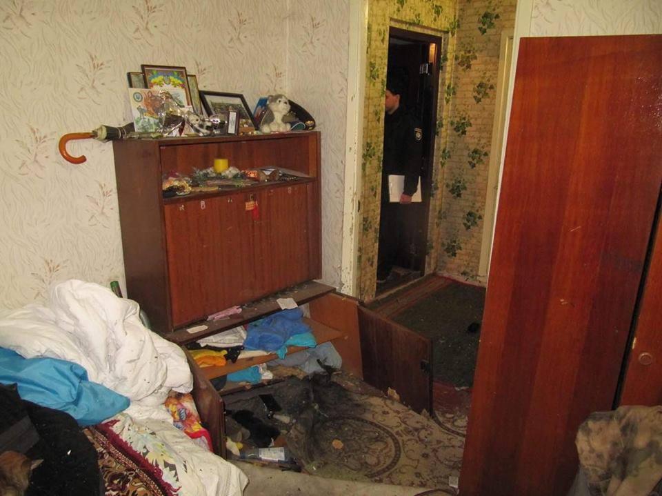 Под Киевом всобственной квартире награнате подорвался прежний  боец АТО