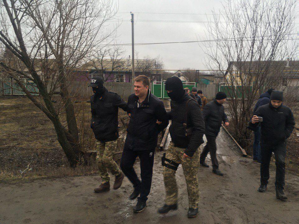 ВХарькове СБУ задержала руководителя местного отделения «Украинского выбора»