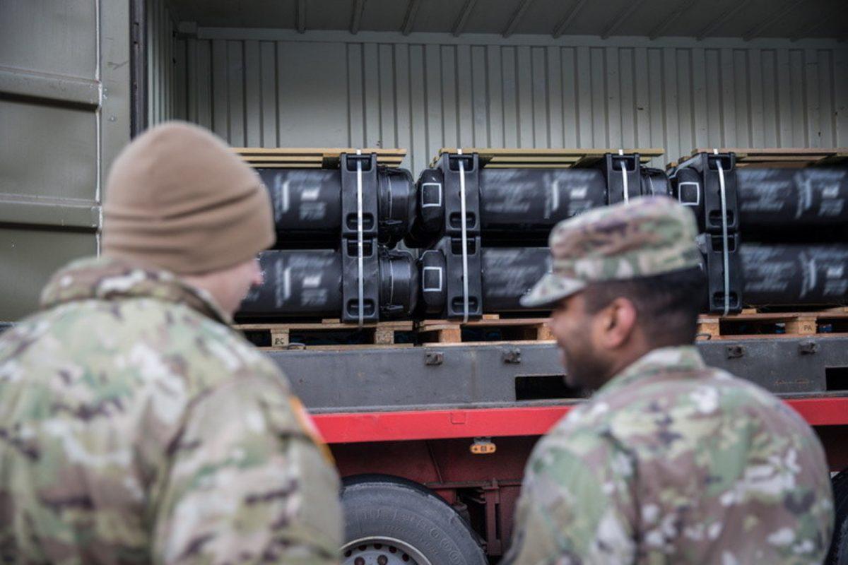 США передали Эстонии ракеты Javelin