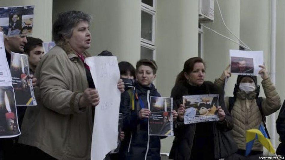 Оккупанты вКрыму приговорили кусловному сроку украинскую активистку