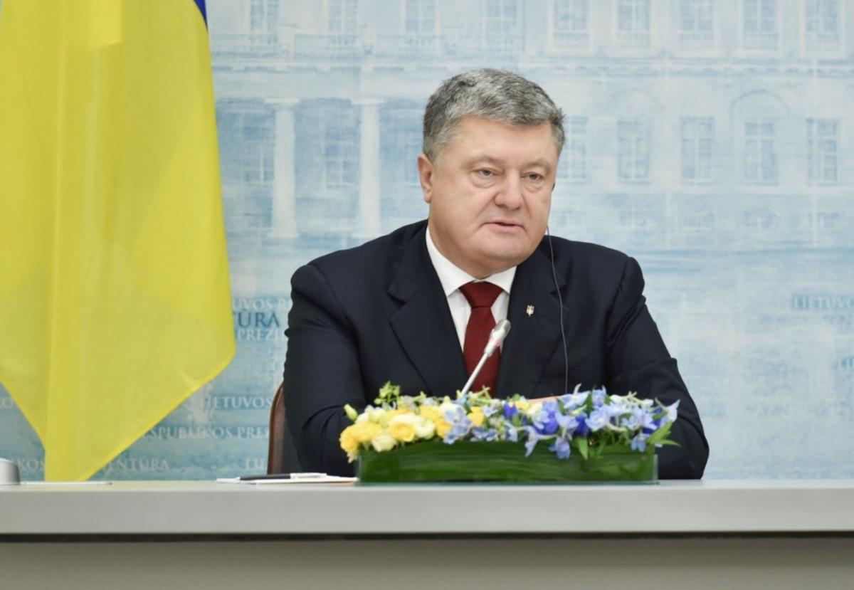 Порошенко объявил оготовности привлечь интернациональных профессионалов кситуации сСаакашвили