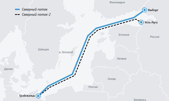 Прибалтика приняла «Северный поток-2»