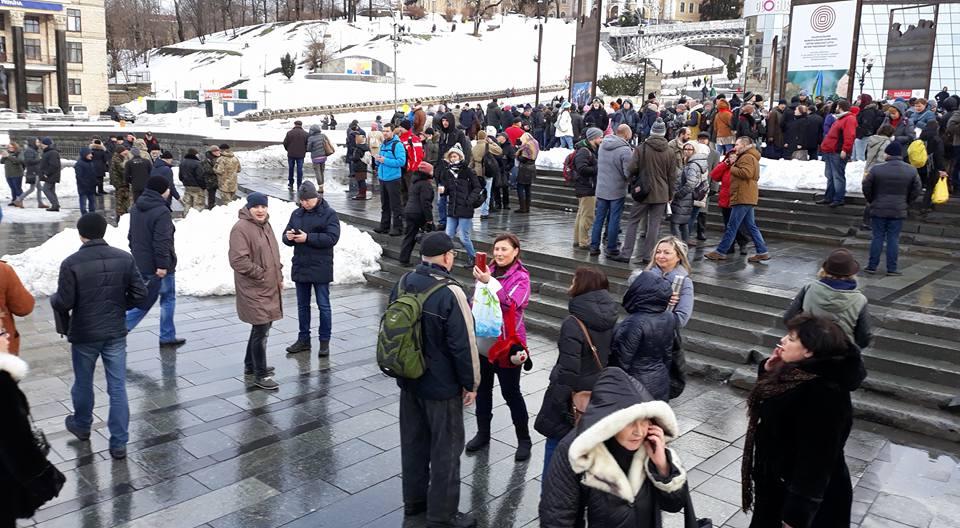 Саакашвили поиздевался над акцией «Кофе наКрещатике» вподдержку Порошенко