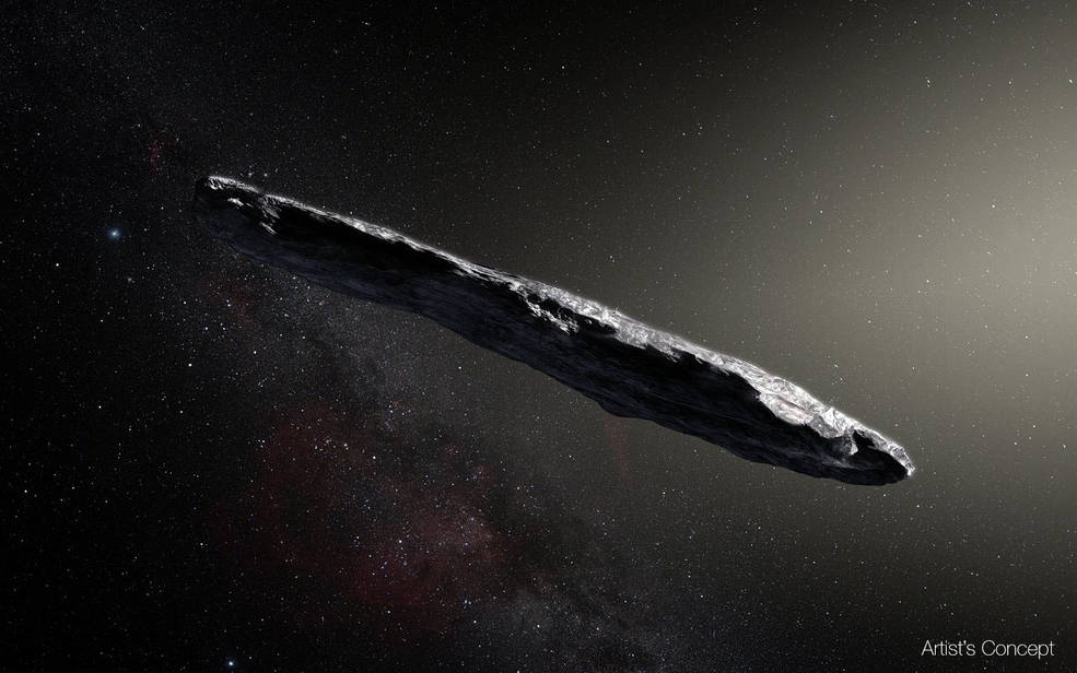 14:34 by Info Resist Межзвездный астероид Оумуамуа проверят на наличие инопланетян InfoResist