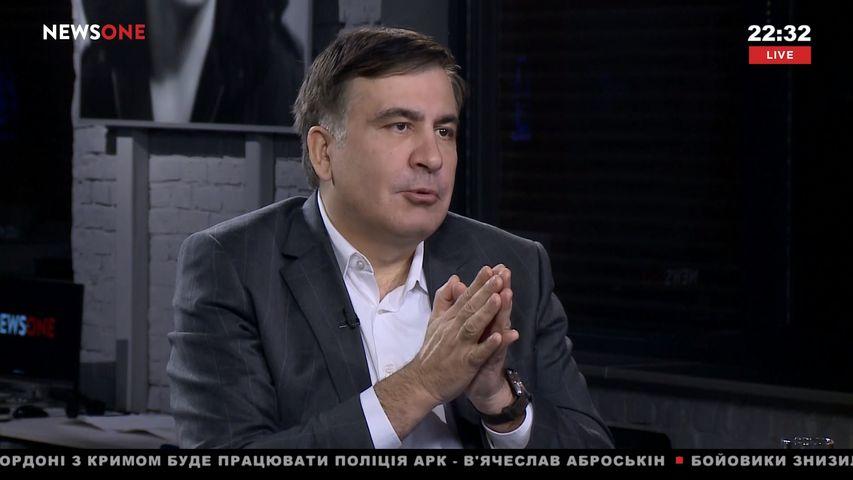 Саакашвили: нужно договориться сПорошенко «нерастаскивать страну»
