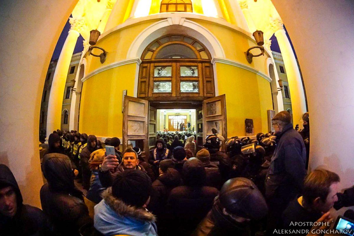 Дипмиссия США раскритиковала приверженцев Саакашвили заштурм Октябрьского замка