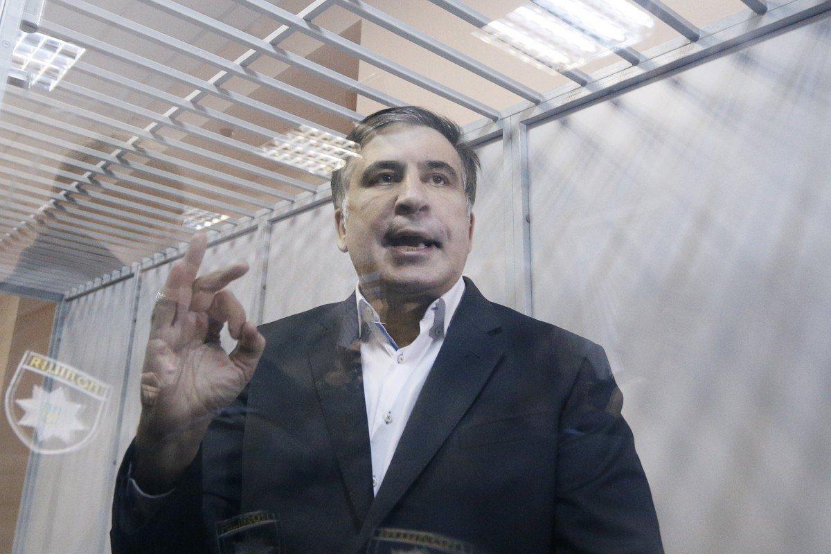 Саакашвили поведал, очем написал Порошенко вписьме