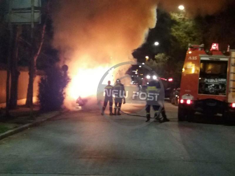 Посольство Украины вГреции попытались забросать «коктейлями Молотова»