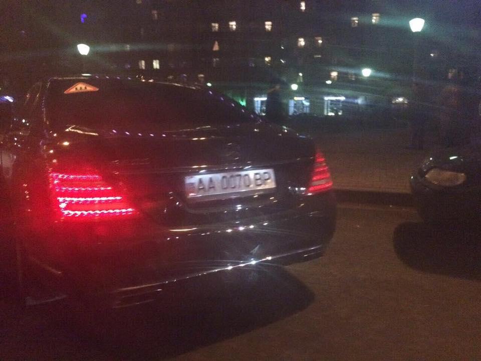 Чудный автомобиль депутата Верховной Рады был замечен встолице РФ