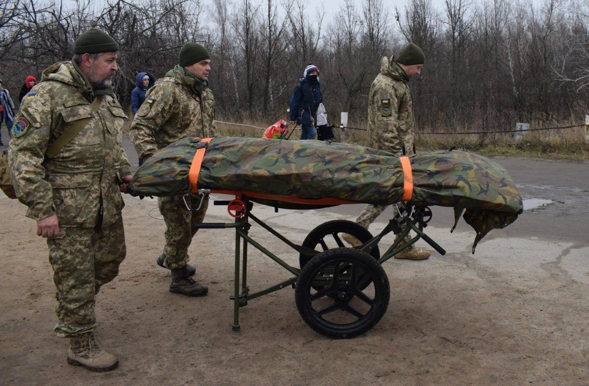 Боевики один раз обстреляли украинских военных накануне Рождества