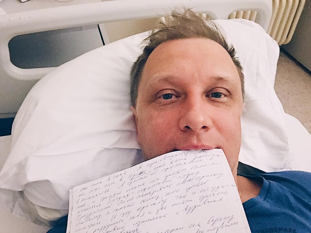 Срочно госпитализирован звезда фильма «Бумер» Сергей Горобченко
