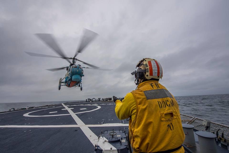 Украина иСША провели общие  военные учения вЧерном море