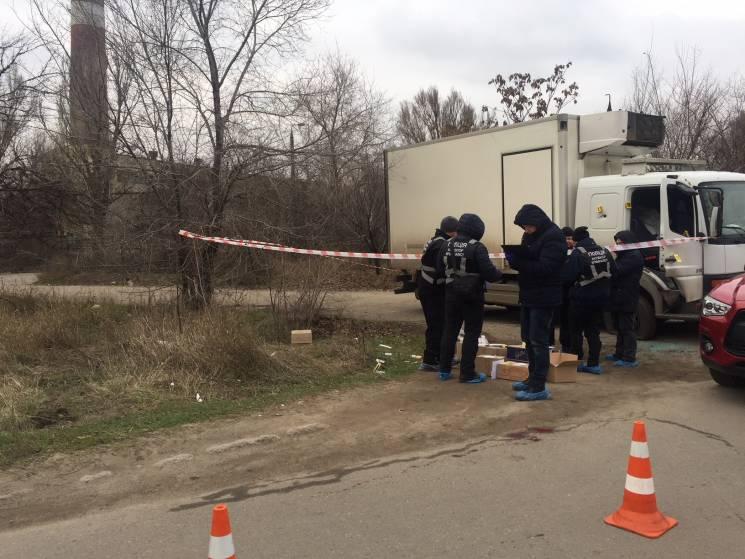 ВЗапорожье расстреляли предпринимателя , правоохранители готовятся кштурму укрытия злоумышленников