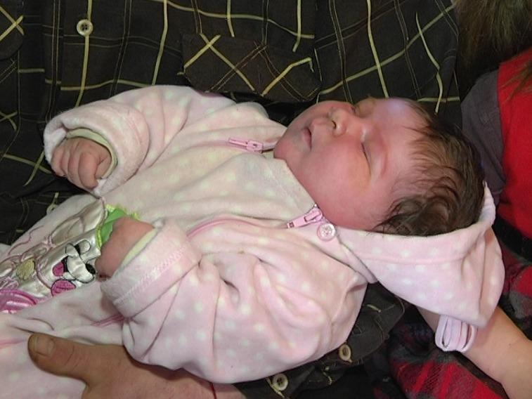 Ребенок-богатырь: вЗапорожской области родился парень весом неменее 7 килограмм
