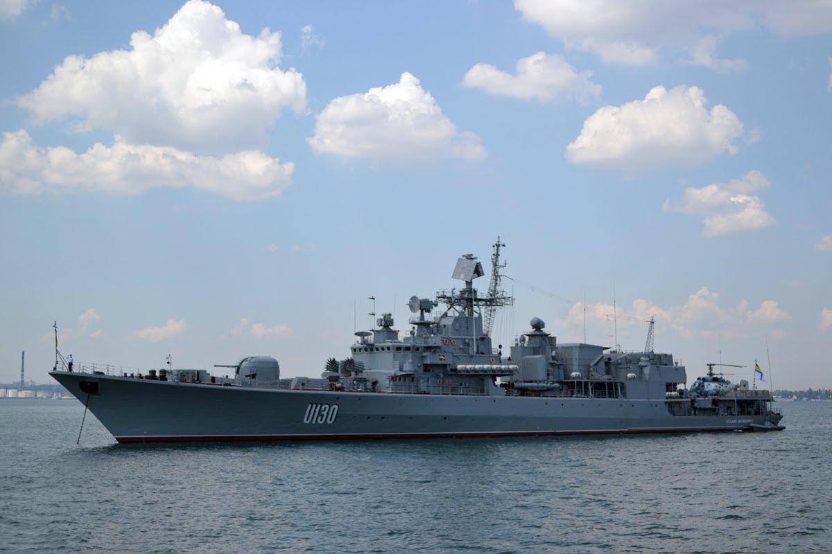 Работник института хотел передать иранцам техдокументы фрегата «Гетман Сагайдачный»