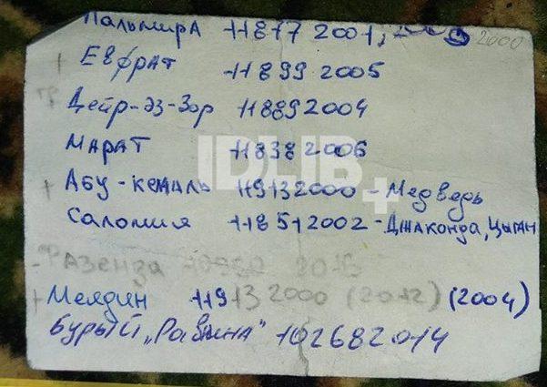 CIT обнародовала фото документов погибшего пилота Су-25
