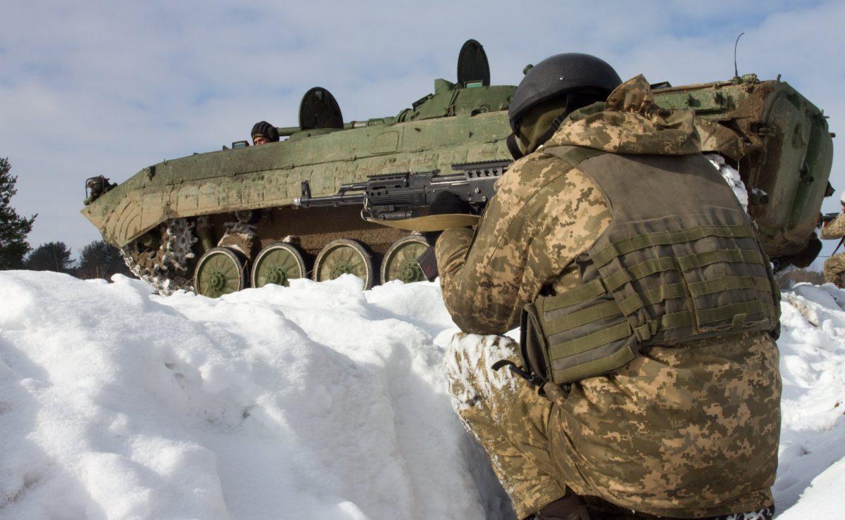 Штаб: ВАТО умер один украинский военнослужащий