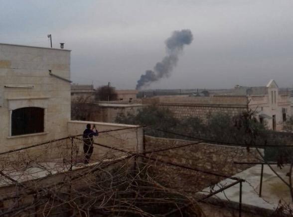 Крушение Су-25 вСирии: боевики расстреляли катапультировавшегося летчика