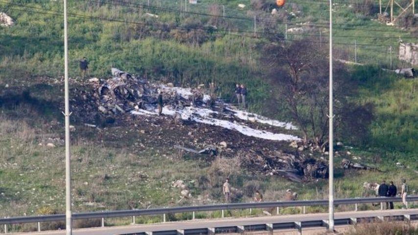Израильские военные сбили летевший изСирии иранский беспилотник