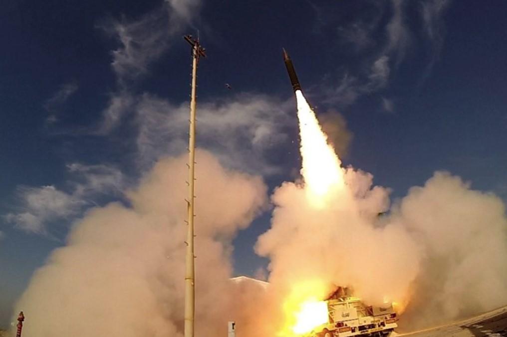 Израиль удачно испробовал новейшую систему противоракетной защиты