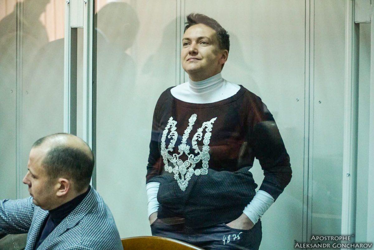 Дежавю: Савченко снова объявила голодовку, наэтот раз— вукраинском СИЗО