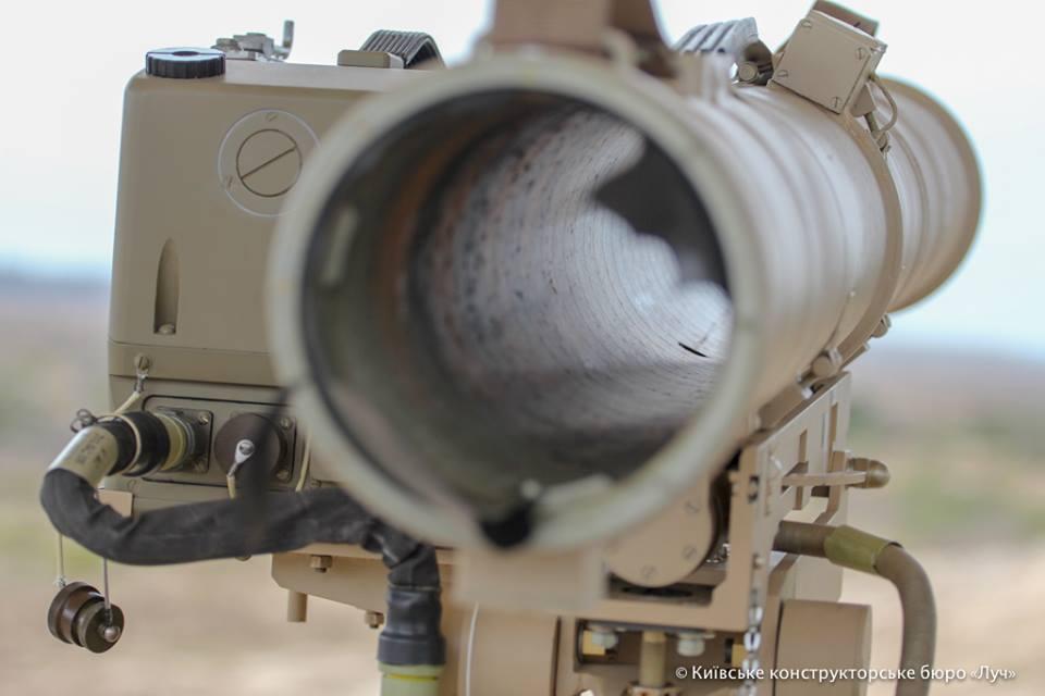 Нафоне обострения обстановки Украина провела тестирования улучшенного противотанкового комплекса