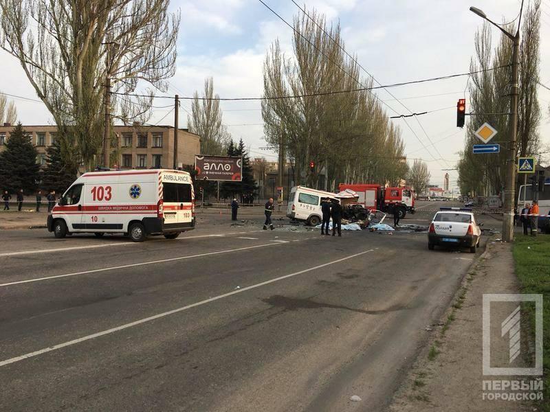 Восемь человек погибли и17 пострадали вДТП вКривом Роге