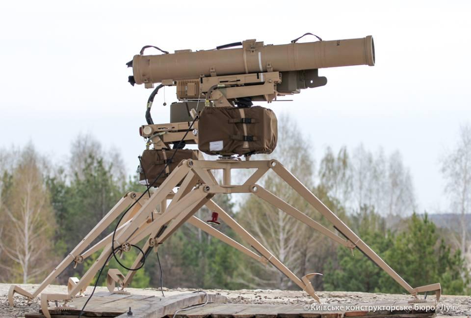 Вгосударстве Украина  испытали улучшенный  противотанковый ракетный комплекс «Скиф»