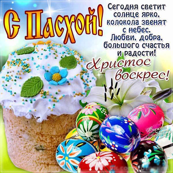 С праздником пасхи фото поздравления