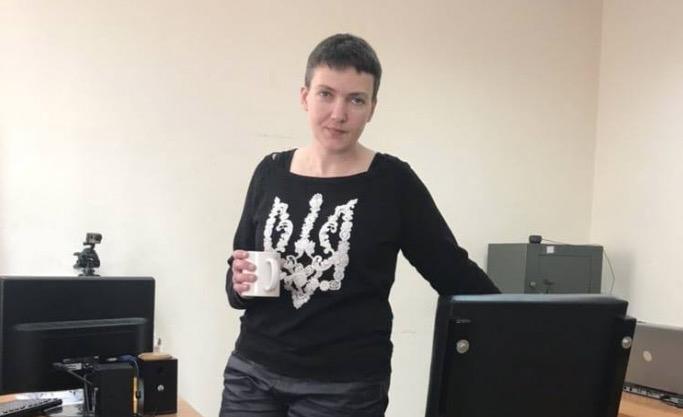 Надежда Савченко возобновила прерванную голодовку