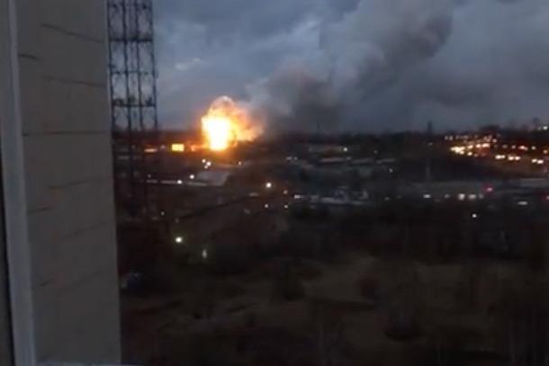 Пожар произошел наавиазаводе «Рубин» вПодмосковье