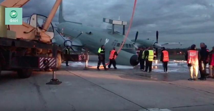 В столицеРФ совершил аварийную посадку самолет ВМС Индии