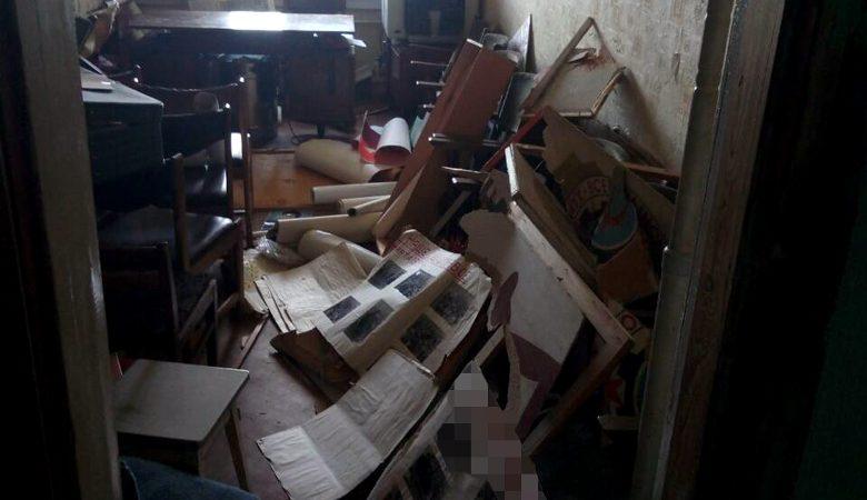 Вофисе Трудовой Харьковщины устроили погром