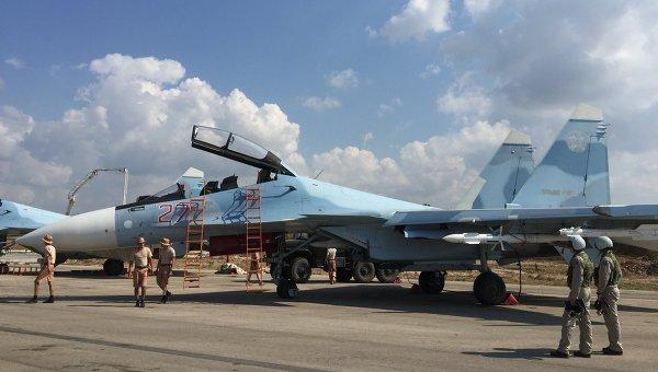Рядом с побережьем Сирии разбился российский истребитель Су-30