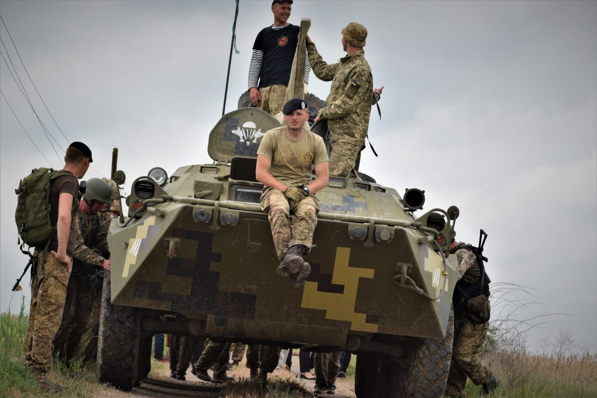 Учения украинской армии награнице сДНР показали навидео