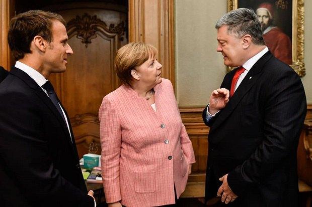 Порошенко: Российская Федерация должна поддержать резолюцию ООН свводом миротворцев наДонбасс