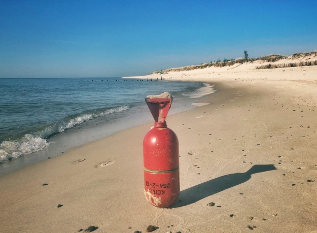 ВПольше наберегу моря нашли российские ракеты для подводных лодок