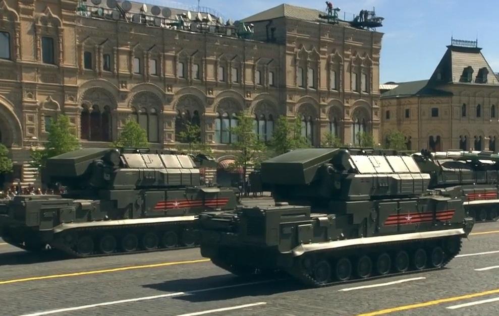 Полная готовность: состоялась генеральная репетиция парада Победы в столицеРФ
