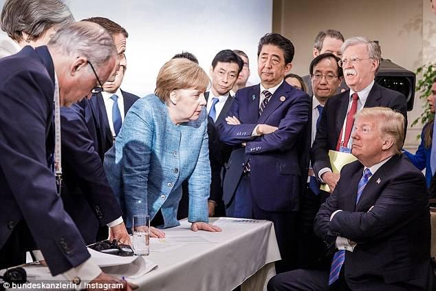Захарова прокомментировала «адскую драку» Трампа иТрюдо насаммите G7