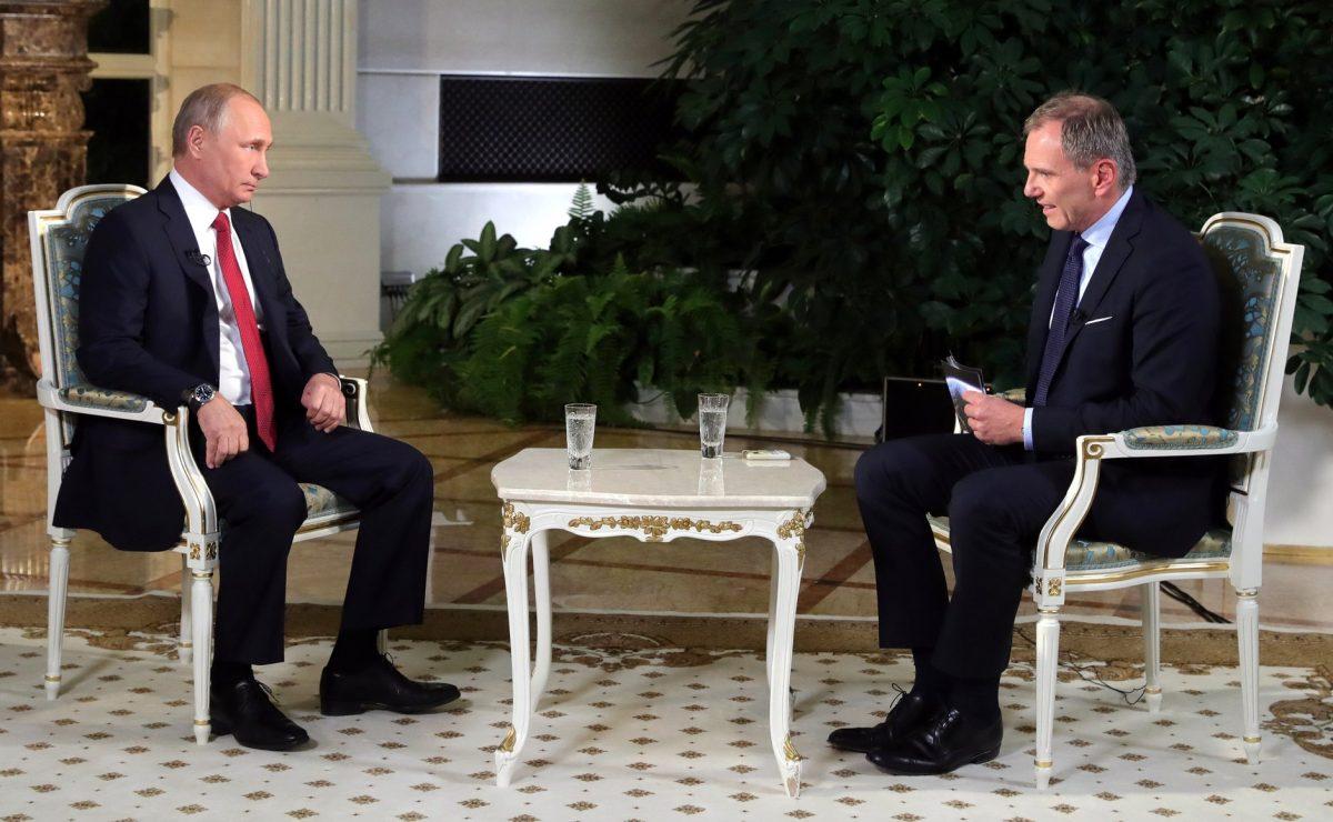 Путин впервый раз прокомментировал деятельность «фабрики троллей»