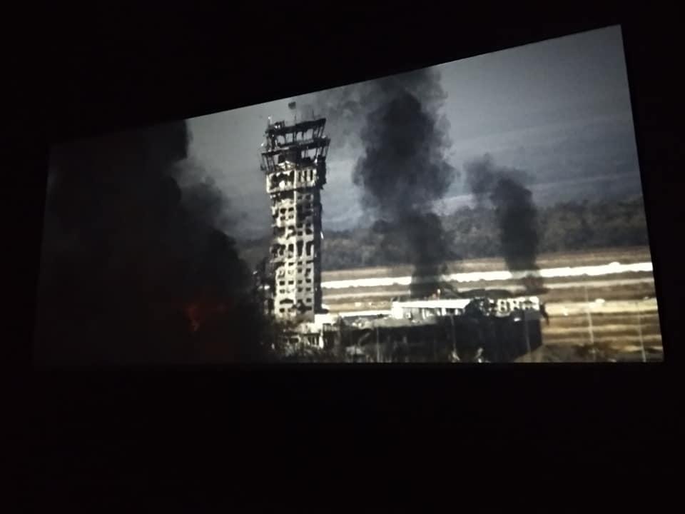 ВМинске показали украинский пропагандистский фильм «Киборги»