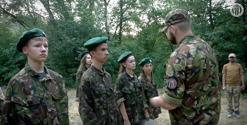 На Украине открыли детский
