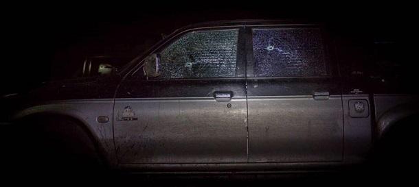 На Донбассе в тылу ВСУ обстреляли машину командира роты Правого сектора